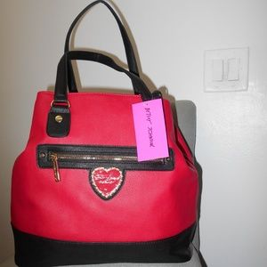 Betsey Johnson TRAP TOTE NEW YORK NEW YORK
